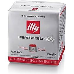 illy Caffè Iperespresso Tostatura Media - 108 Capsule