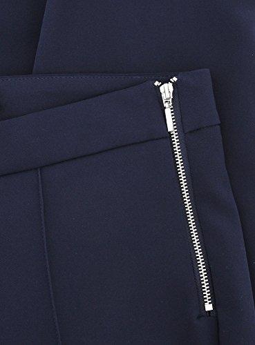 oodji Ultra Damen Klassische Enge Hose Blau (7900N)