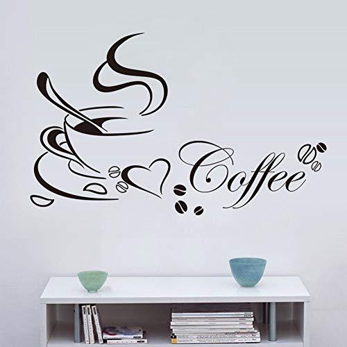 Wandaufkleber Kinderzimmer Wandtattoo Kinderzimmer Kaffee-Gourmet-Küche-Kunst-Inneneinrichtungen-Restaurant-Bar (Küche Gourmet-kaffee)
