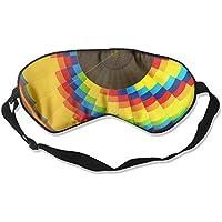 Rainbow Hot Air Balloon 99% Eyeshade Blinders Sleeping Eye Patch Eye Mask Blindfold For Travel Insomnia Meditation preisvergleich bei billige-tabletten.eu