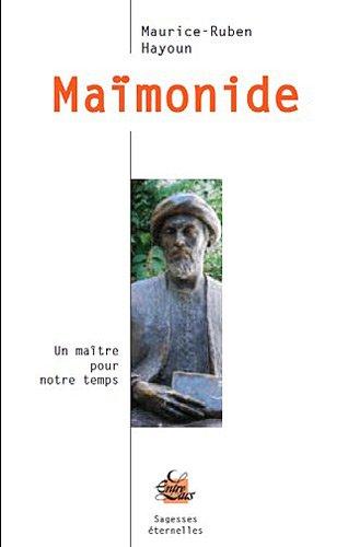 Maïmonide par Maurice-Ruben Hayoun