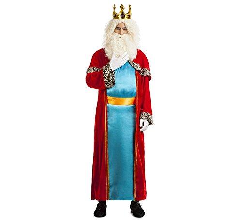 Imagen de disfraz rey mago melchor talla m l