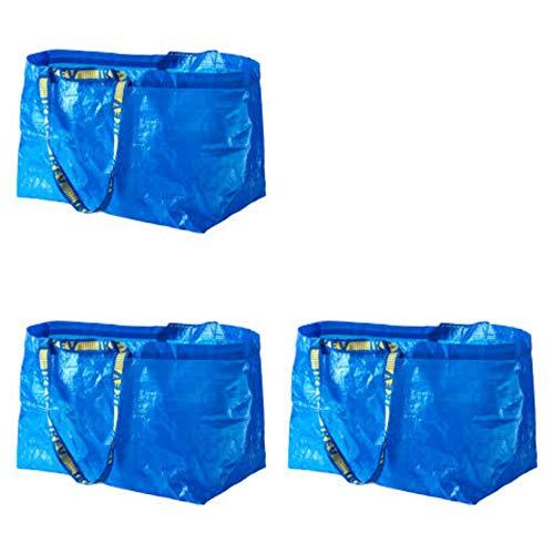 Ikea Frakta Einkaufstasche/Wäschetasche, groß, 3 Stück
