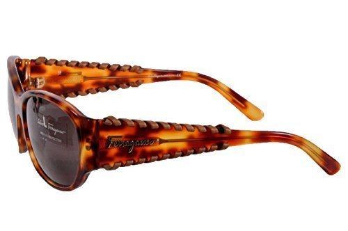 Salvatore ferragamo designer occhiali da sole 2141-q 484/3 - th