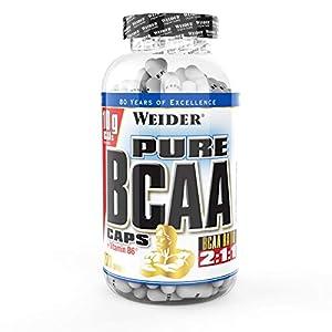 Weider Pure BCAA essentielle Aminosäuren, für Fitness und Bodybuilding, 270 Kapseln