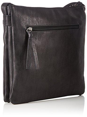 Tamaris - Khema Crossbody Bag, Borse a tracolla Donna Nero (Black Comb.)