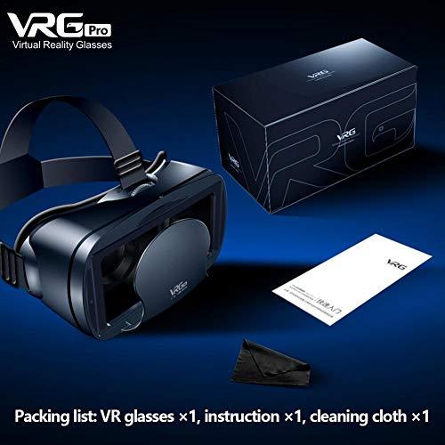 VR Brille 3D Virtual Reality Magische Brille Spezielle 120 Grad Weitwinkelobjektiv für 5-7 Zoll Handy