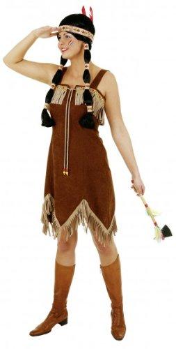 Kostüm Supersexy - Supersexy Indianerin Kleid Gr.38