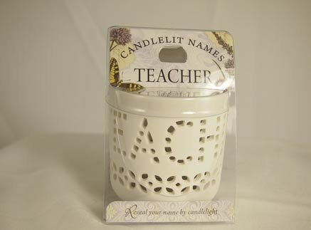 History & Heraldry Candlelit Names - Teacher - Tea Light Lite Candle 001850009-HH by History & Heraldry