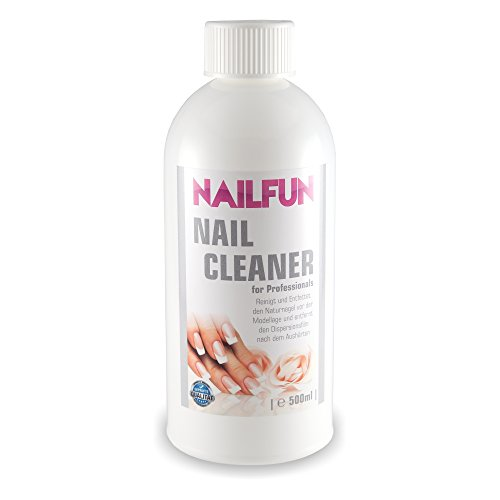 Nailcleaner 500 ml = 99,9% isopropanol Esthétiques – Nettoyant ongles spécial en qualité studio