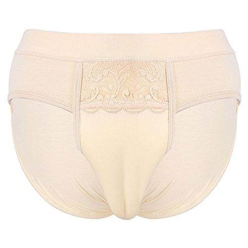 Gaff Höschen Verstecken Kamel Zeh Panty Männer Crossdressing Gestaltung Unterwäsche Unterhose Soft Dessous Nackt Large ()