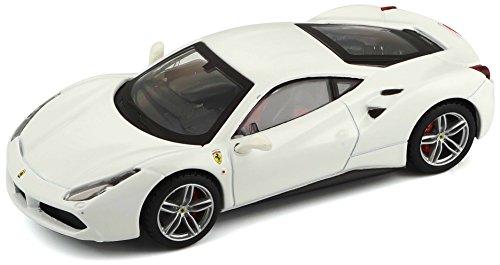 Bburago Maisto France 36904 Ferrari 488 GTB Blanche Signature Séries - Echelle 1/43