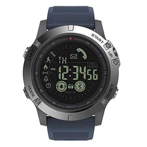 FJTYG Robuste Smartwatch 33 Monate Standby-Zeit 24H Allwetter-Überwachung Smart Watch Für Ios Und Android -