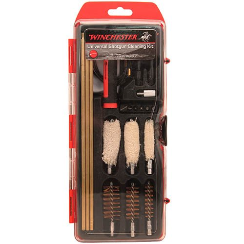 Winchester Universal Hybrid Cleaning Kit für Kal. 12/20/36-3 Stück Messingstäbe, Bürsten und 6 Schraubenzieher Spitzen
