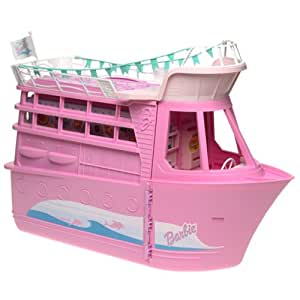 Barbie Cruise Ship Playset W Child Size Camera Activates