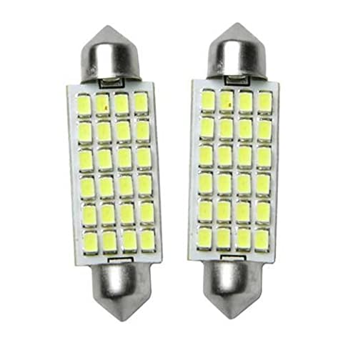 44mm LED dome white 24 SMD bright bulbs, for map