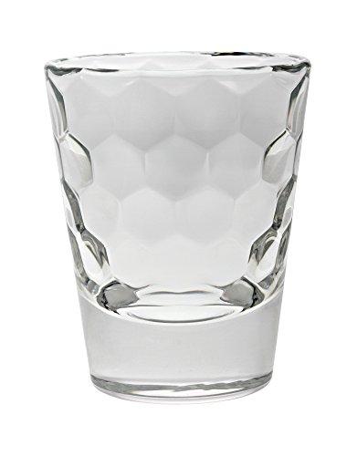 Vidivi Vetri delle Venezie 67259 Honey Set 6 Bicchieri da Liquore Vetro da 8 cl Trasparente