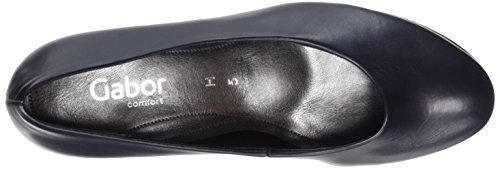 Gabor Shoes Comfort, Scarpe con Tacco Donna Blu (ocean 50)