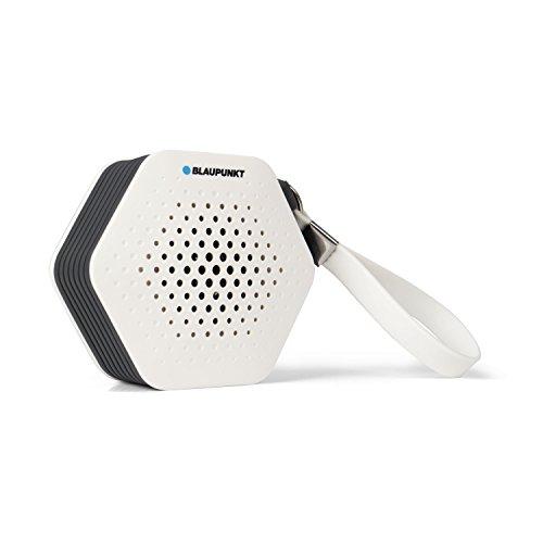 Blaupunkt SRB 10 – kleines und tragbares Badradio |UKW/FM PLL | Bluetooth Musik Streaming und Aux In | automatische Senderspeicherung | Freisprech-Funktion | Duschradio und Badezimmer-Radio mit IXP5