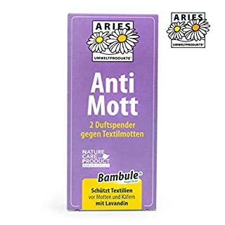 Aries - Anti Mott 2 Duftspender gegen Textilmotten - 2er Set