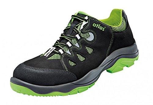 Atlas Chaussures de sécurité pour hommes Nero/Verde