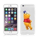 Disney Winnie The Pooh & Friends Transparent TPU Soft Case For Apple iPhone 7 Plus WINNIE 2