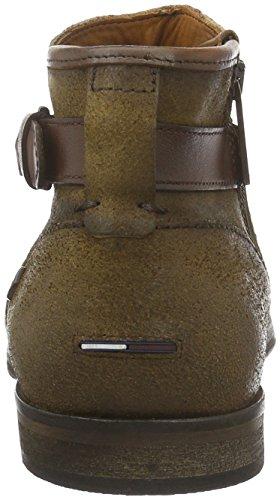 Hilfiger Denim J2385ack 3c, Bottes Classiques homme Marron - Braun (Coffee 211)