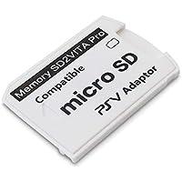SODIAL Versione 6.0 SD2VITA per PS Vita Memory TF Card per Psvita Game Card PSV 1000/2000 Adapter 3.65 Sistema SD Micro…