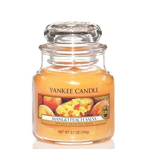 Yankee Candle Small Jar Candle, Mango Peach Salsa