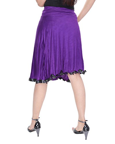Soundarya - Jupe - Femme Violet - Violet