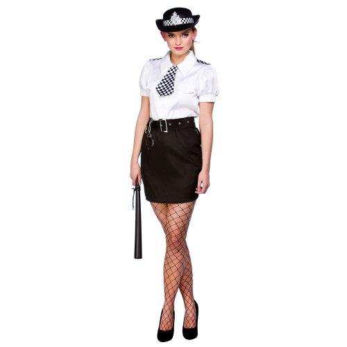 Ladies Constable Polizist Woman Cop Uniform Kostüm Outfit