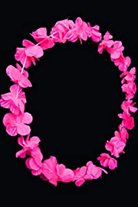 UV Floor 3700817022666 - Collar hawaiano, color rosa fluorescente