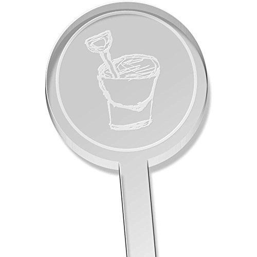 Azeeda 10 x \'Eimer & Spaten\' Kurz Trinken Sie Rührer (DS00009642)