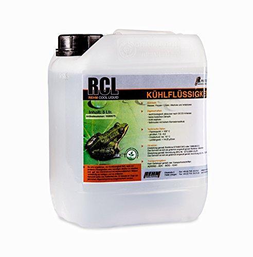REHM RCL Kühlflüssigkeit für Schweißgeräte im 5 Liter Kanister – (-15°C) Hochleistungskühlmittel, biologisch abbaubar, kein Gefahrgut oder Gefahrstoff - 2