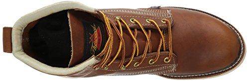 Thorogood 6 inches Plain Toe Work Boot, Herren Stiefel / Bootsschuh Braun