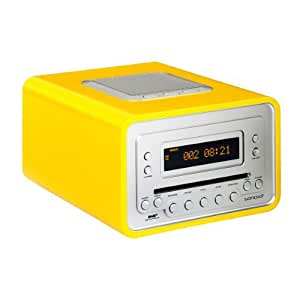 sonoro cubo cd player dab radio alarm clock. Black Bedroom Furniture Sets. Home Design Ideas