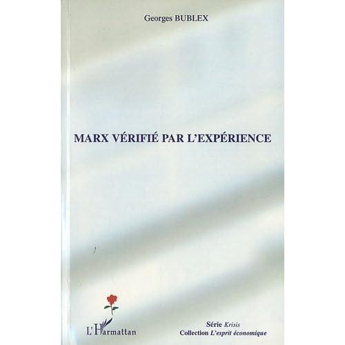 Marx vérifié par l'expérience (L'esprit économique)
