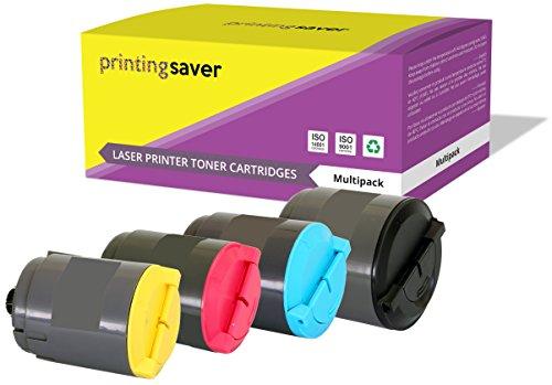Printing saver clp-300a nero (1) ciano (1) magenta (1) giallo (1) toner compatibili per samsung clp-300, clp-300n, clx-2160, clx-2160n, clx-2160x, clx-2161k, clx-3160, clx-3160n, clx-3160fn