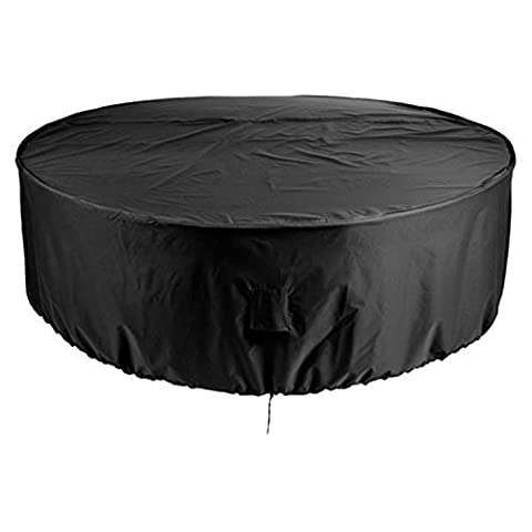 Gardman 6-8 Seater Heavy Duty Round Patio Furniture Cover with