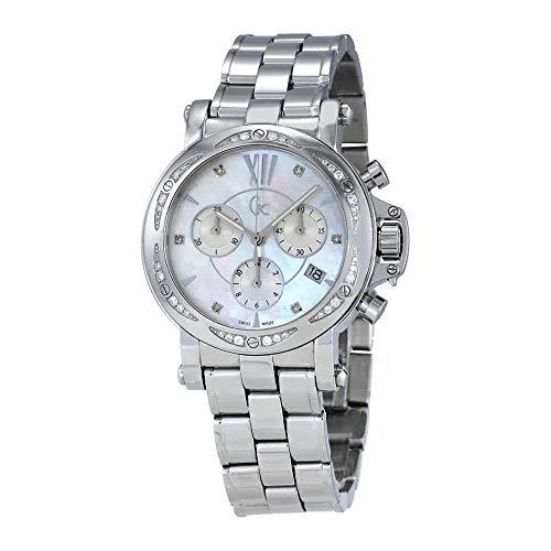 Guess GC madreperla quadrante orologio da polso donna X73106M1S
