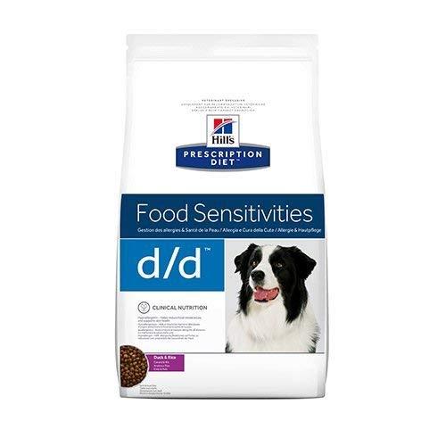 prescription diet d/d canine mangime secco anatra e riso kg. 12