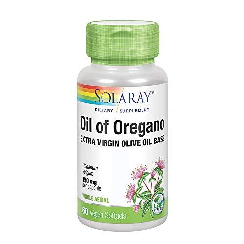 Solaray Oil of Oregano 150mg | Aceite orégano