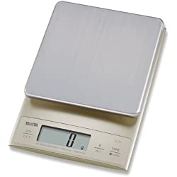 Tanita KD321SV33 Bilancia da cucina 3 kg a scatti di 0.1 g