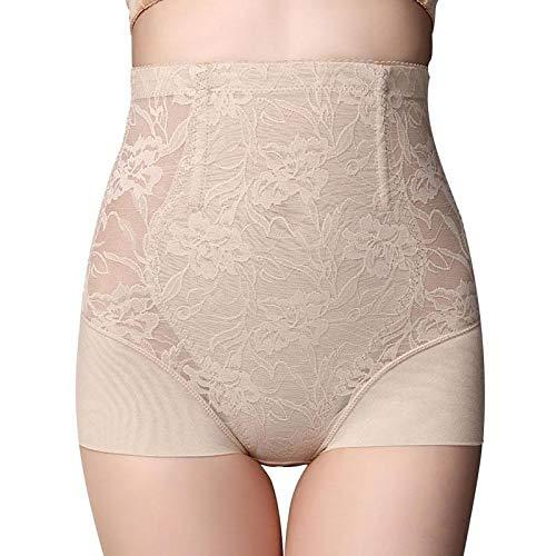 XIAOXINGXING Postpartale Ultradünne Bauch Hose Hohe Taille Hüfte Taille Bauch Underwear Weibliche Körperformung Hose Former (Color : Skin, Size : XL) - Mikrofaser-former