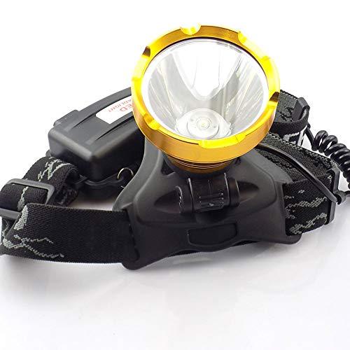 Stirnlampen Hochleistungs-Led-Scheinwerfer Frontale Taschenlampe Laterne Scheinwerfer Wiederaufladbare Stirnlampe Taschenlampe 18650 - Running Light Switch