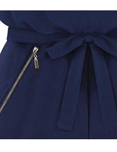 GSP-Hauts court salopette d'été réservoir des femmes européennes et le pantalon court navy blue-m