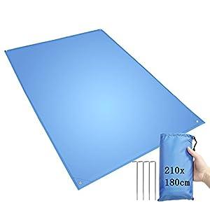 Coperta da Pic-nic, Tappeto Campeggio, Impermeabile, Pieghevole, leggero coperta da spiaggia, grande 210x210cm/210x180cm… 10 spesavip