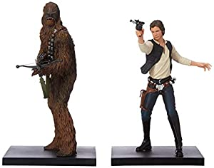 Kotobukiya Star Wars Han Solo y Chewbacca Artfx+ Estatua
