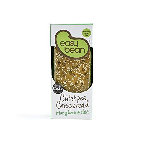 EASY BEAN - Mung Bean & Chive Chickpea Crispbread (110g x 4)