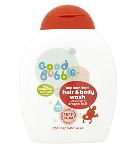 Good Bubble Bish Bash Bosh! Hair & Body Wash with Dragon Fruit Extract 250ml
